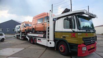 camion voor export aanbieden