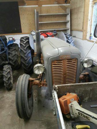 oude tractor voor export